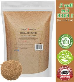 1 lb ground brown flax seed omega