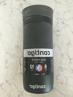1 Contigo Leak Proof Travel Mug 16OZ Black BPA Free