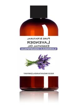 LAVENDER ESSENTIAL OIL 100% PURE & NATURAL SIZE 1 2 4 16 oz