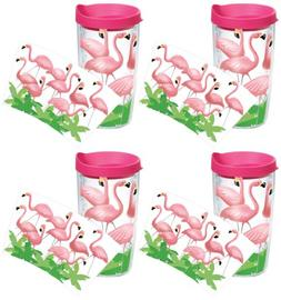 Tervis 1055784 Flamingos Tumbler with Wrap and Fuchsia Lid 4