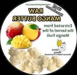 16 OZ / 1lb 100% Pure Raw Mango Butter completely Refined &
