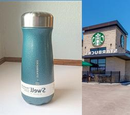 16 oz Starbucks S'well Night Sky Wide Mouth Traveler Bottle