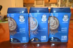 16oz Gerber Baby Cereal pack of 3 Supported Sitter 2nd Foods