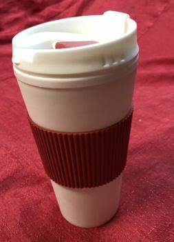Coffee 16oz Thermal Mug Travel To Go Double Walled W/ Lid Re