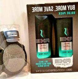 Axe Shower Gel, Apollo 16 oz, Twin Pack