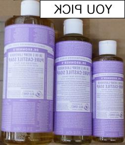 Dr. Bronner's Pure-Castile Liquid Soap - Lavender  - YOU PIC