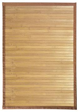 InterDesign Bamboo Floor Mat – Ideal Mat for Kitchens, Bat