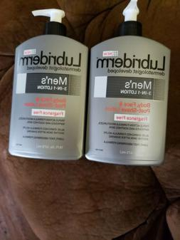 Lubriderm Men's 3-in-1 Fragrance-Free Lotion, 16 Fl. Oz