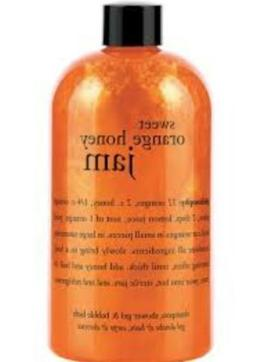 NEW 16 OZ Philosophy Sweet Orange Honey Jam Shampoo Shower G