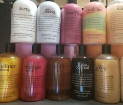 Philosophy 16oz shampoo bath & shower gel PICK UR SCENT+ BON