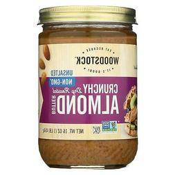 Woodstock Farms - All-Natural Almond Butter Crunchy Unsalted