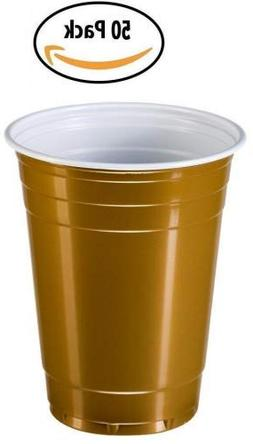 Goodtimes Big Party Pack 50 Count Disposable Plastic Cups, 1