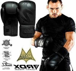 boxing gloves leather training 16oz fitness sparring