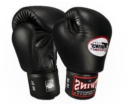 Twins Best Boxing Gloves Muay Thai MMA Gear Black Bgvl-3 /8-