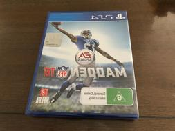 Brand New & Sealed Madden NFL 16 PS4 Game  FAST POST! AUS
