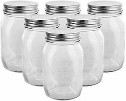 Brand New Golden Spoon Mason Jars, With Regular Lids,