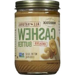 Woodstock Farms-Cashew Butter Unsalted