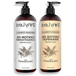 Castor Oil Shampoo and Conditioner With Ricinoleic Acid, Org