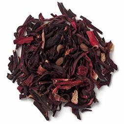 Frontier Co-op Organic Hibiscus Flowers, Cut & Sifted, 1 Pou