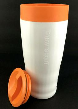 Tupperware Commuter Mug 16 oz Insulated Coffee Cup Travel Ca