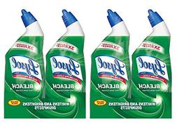 Lysol Complete Clean Toilet Bowl Cleaner with Bleach 3x Clea