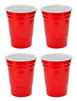 Fairly Odd Novelties 16oz Red Cup Made Out Of Melamine 4 Pac