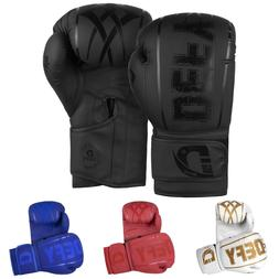 DEFY® Synthetic Leather Boxing Glove Thai Training Punching