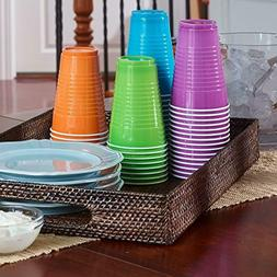 Hefty Disposable Plastic Cups in Assorted Colors 16-oz For P