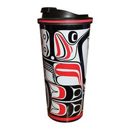 16 oz Eagle Vision Travel Mug