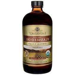 Solgar Earth Source Organic Flaxseed Oil 16 fl oz  Liquid
