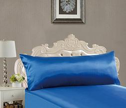 EliteHomeProducts EHP Super Soft & Silky Satin Body Pillowca