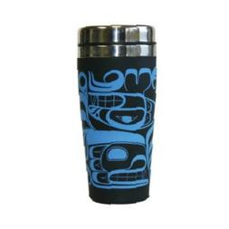 16 oz Four Clans Travel Mug