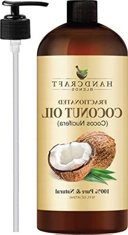 Fractionated Coconut Oil – 100% Pure & Natural Premium The