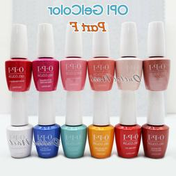 OPI GelColor PART F All New Soak Off Led UV Gel Lacquer Base