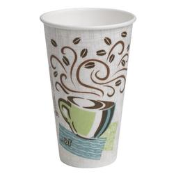 Dixie PerfecTouch 5356DX WiseSize Coffee Design Insulated Pa