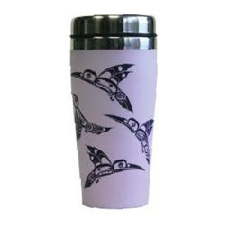 16 oz Hummingbirds Travel Mug
