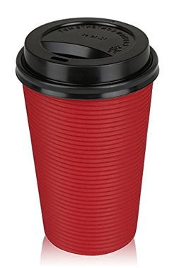 Golden Spoon Infinity 50 Pack 16 oz. Premium Hot Paper Cups