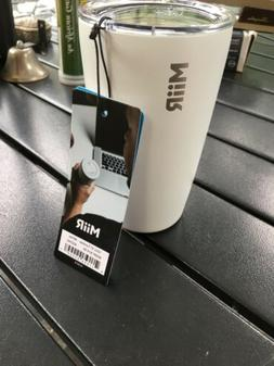 MiiR Insulated Tumbler with Press-on Lid for Coffee, Tea and