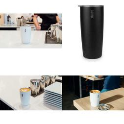 insulated tumbler with press on lid