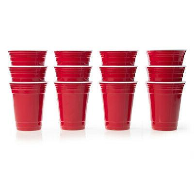 12pk Red Cups oz Supplies