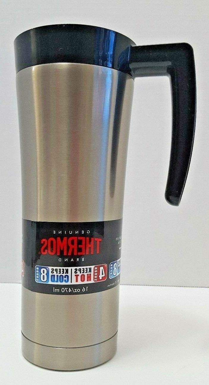 Thermos 16 Ounce Steel- & Handle