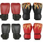 16 OZ Boxing Leather Boxing Gloves Training MMA Fighting Pun