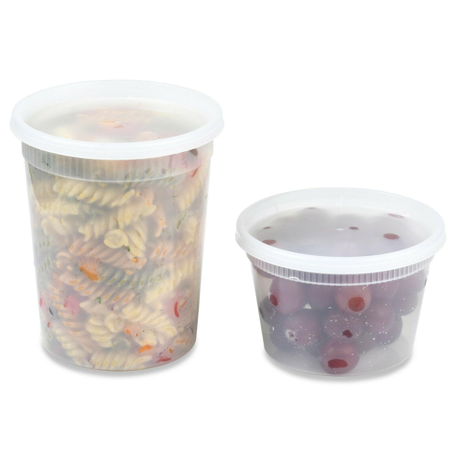 oz Heavy Duty Deli/Soup Containers Made in