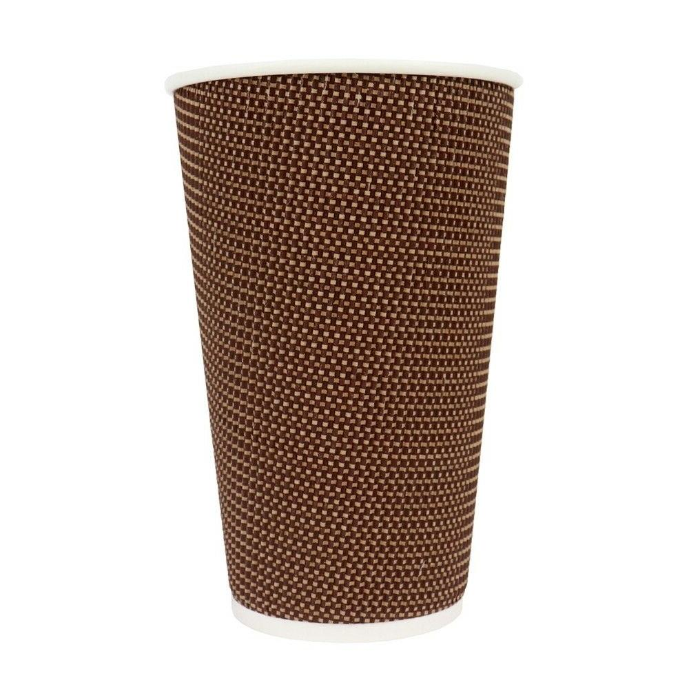16 oz Paper Cups - Double Wall Hot