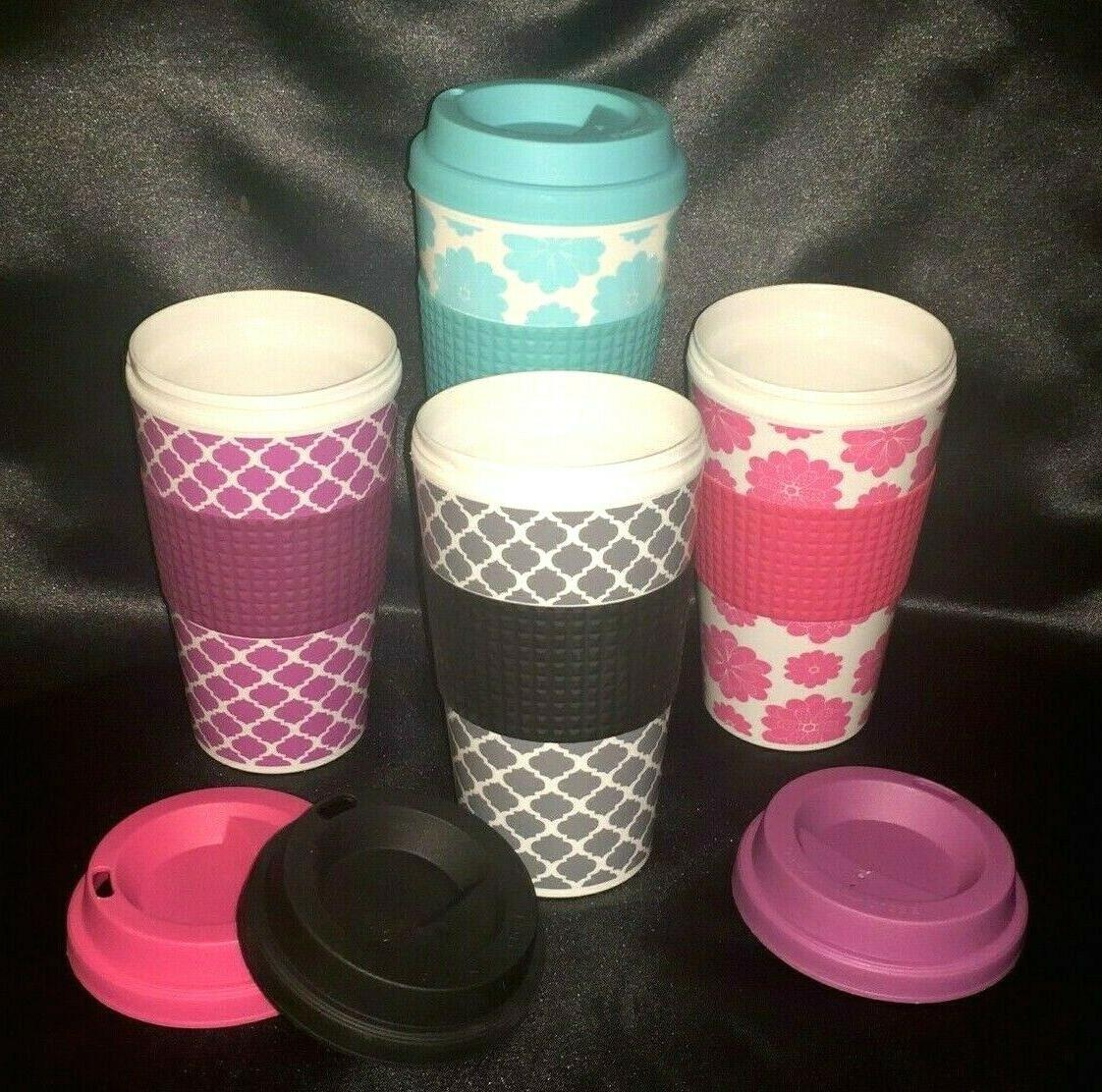 2 pack 16 oz insulated travel tumbler