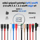 Lightning Cable Charger USB MFI 3ft 6ft 10ft iPhone 5 6s plu