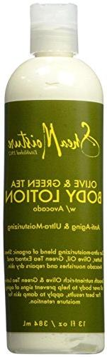 Shea Moisture Olive & Green Tea Body Lotion, 13 Ounce