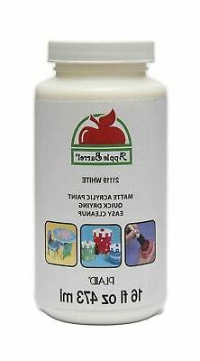 Apple Barrel Acrylic Paint in Assorted Colors , 21119 White
