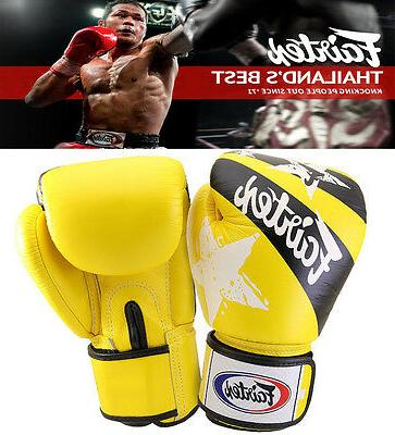authentic nations print muay thai sparring gloves