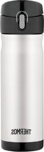 Thermos Back Pack Bottle, Stainless Steel, 1 ea